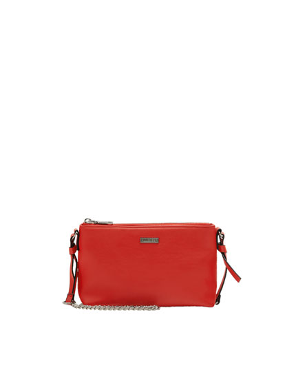 Basic red handbag