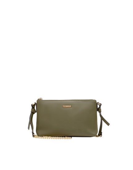 Basic green handbag