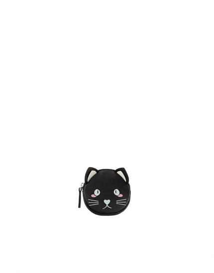 Portmoneu pisică