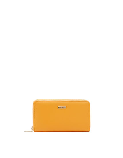 Mustard yellow wallet