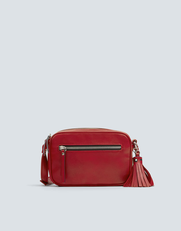 Crossbody Bag With Tassel Detail by Pull & Bear