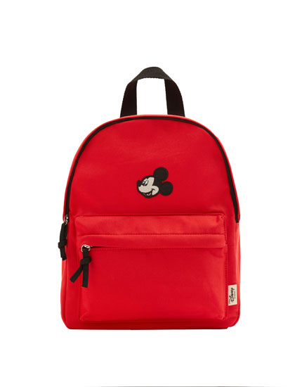 Red Mickey backpack