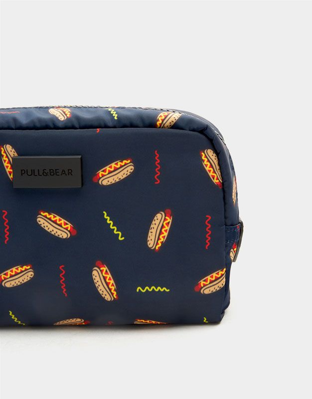 Toiletry Bag With Hot Dog Design Pullbear