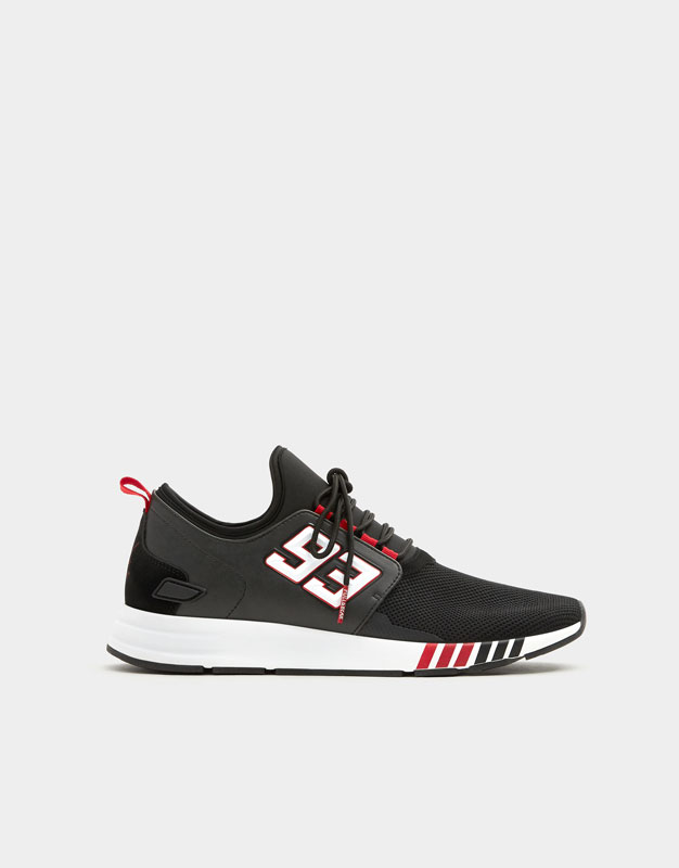 Marc Márquez Number 93 Sneakers by Pull & Bear