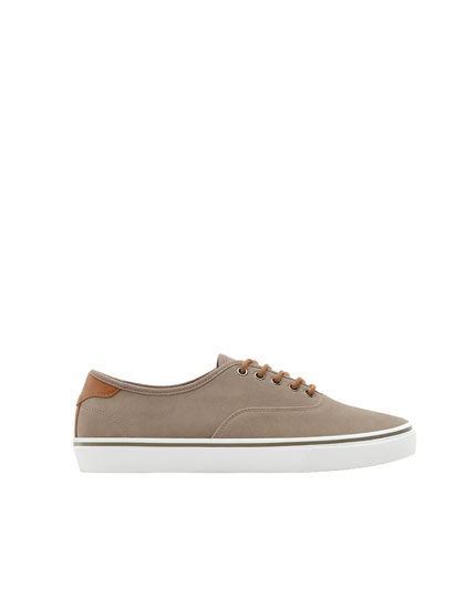 Urbane Basic-Sneaker in Grau