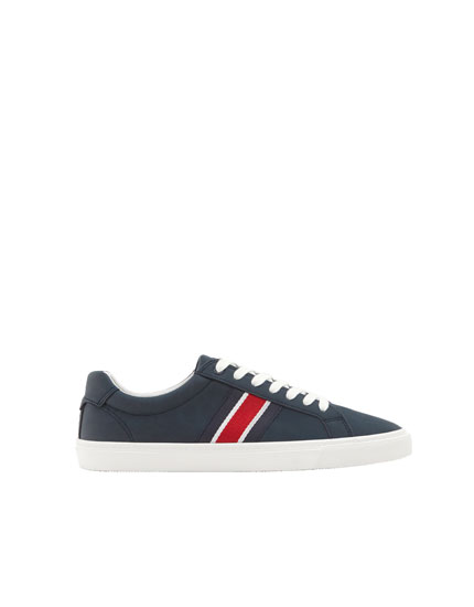 Pull&bear sneakers with taping