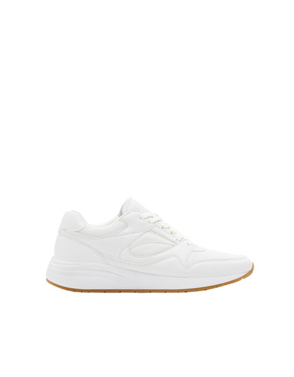 White urban sneakers