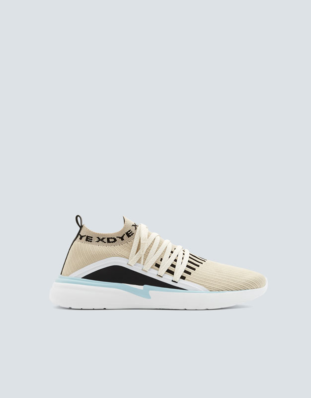 Xdye Sock Style Trainers by Pull & Bear