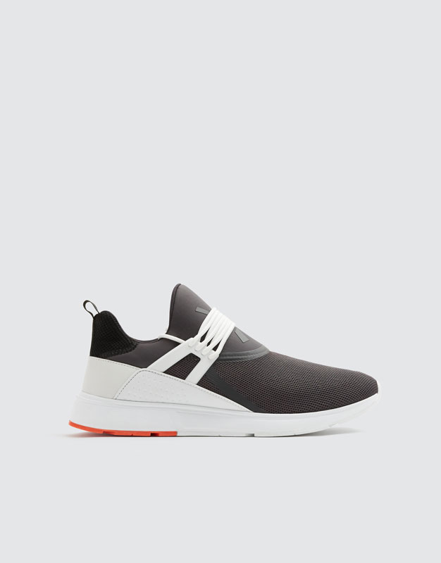 Xdye Colour Sole Trainers by Pull & Bear