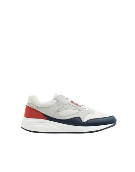 Bunte, urbane Sneaker