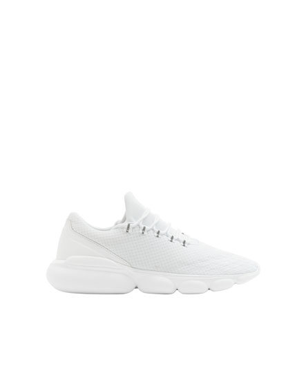 Hvide bubble XDYE sneakers