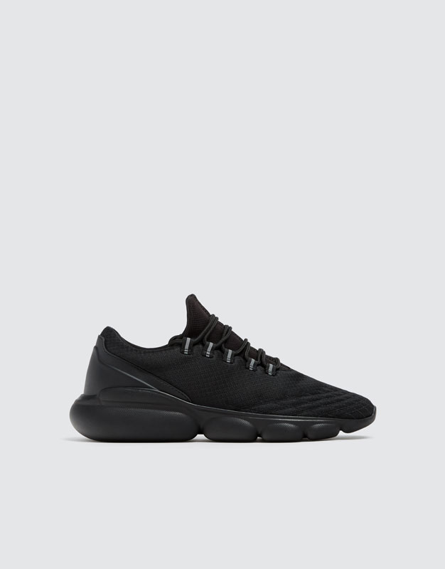 Black Bubble Trainers by Pull & Bear