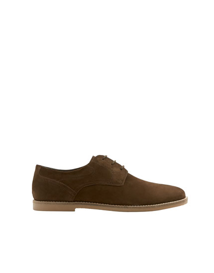 Basic slim brown shoes