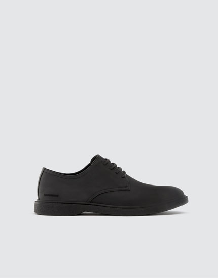 Sporty nappa leather shoes