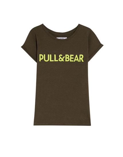 Krekliņš ar Pull&Bear logotipu