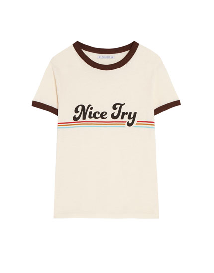Vintage 'Nice try' T-shirt