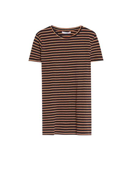 T-shirt rayé basic