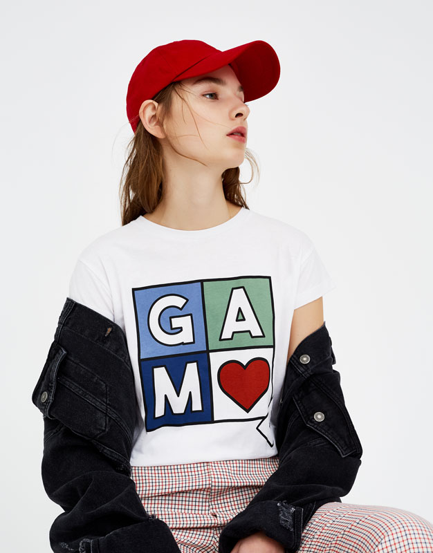 T-shirt imprimé Game