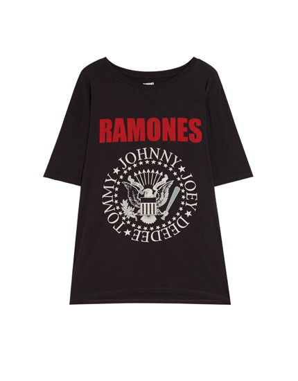Short sleeve Ramones T-shirt