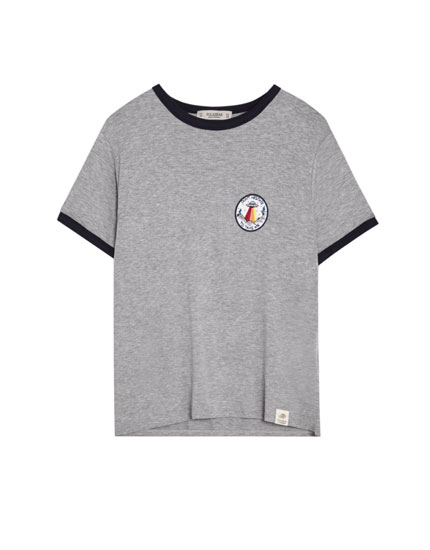 UFO patch T-shirt