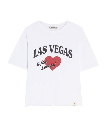 T-shirt basic « Las Vegas »