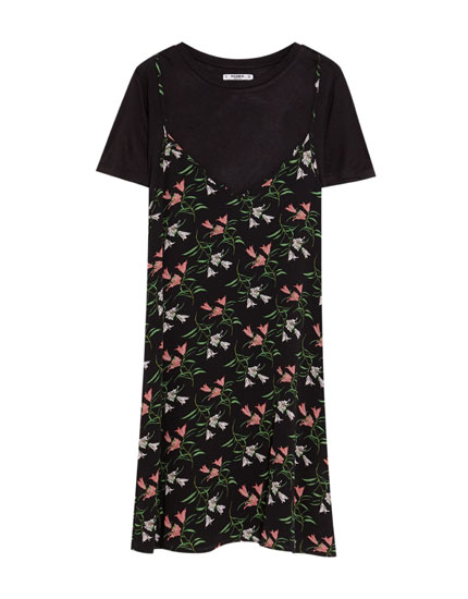 Dress with T-shirt included
