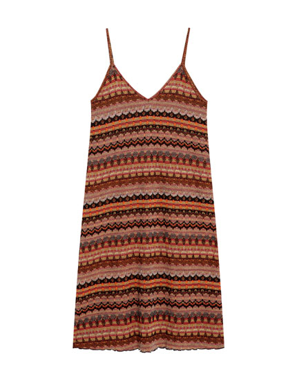 Boho tank dress
