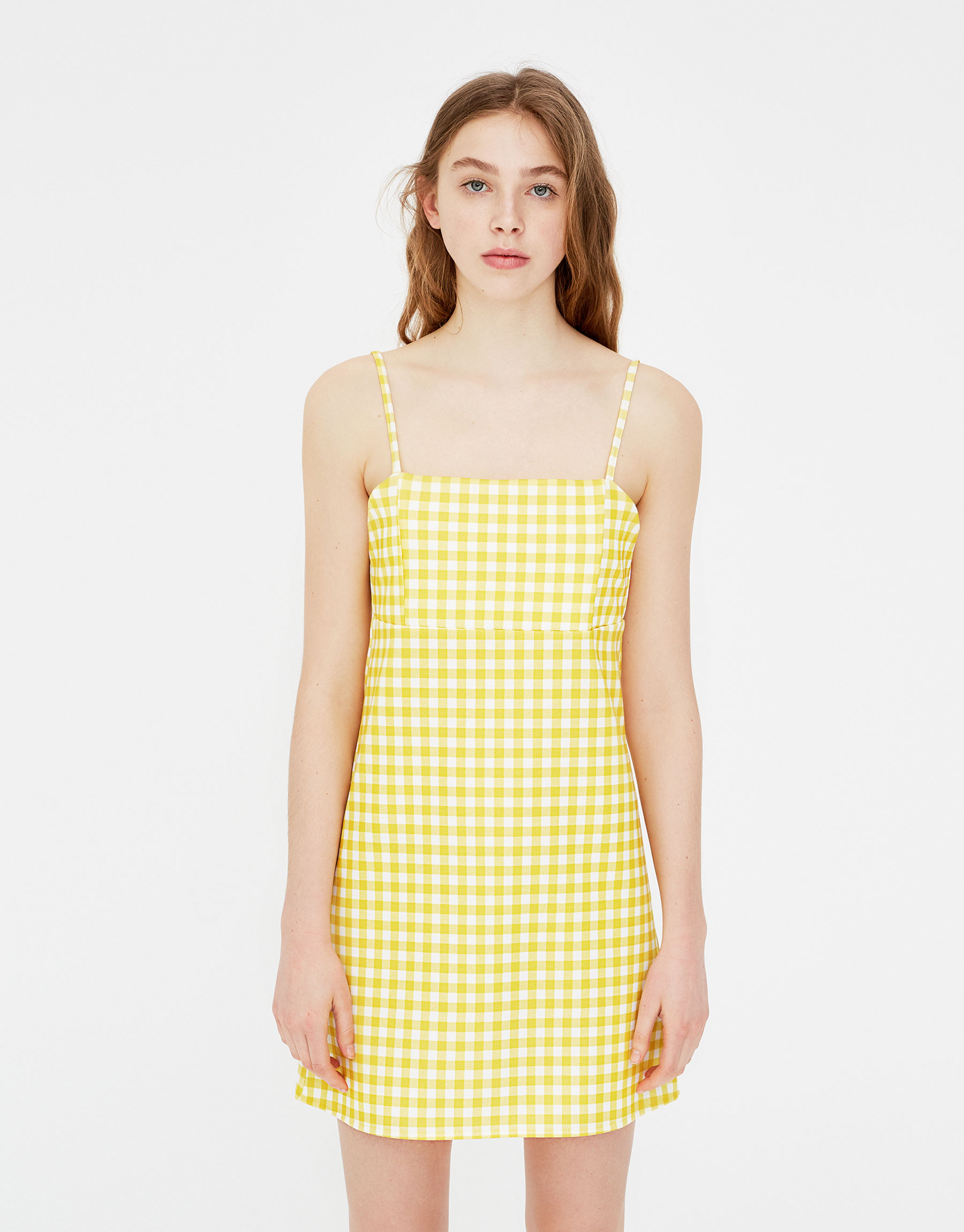 3037246771 Pull & Bear Strappy mini dress at £12.99 | love the brands