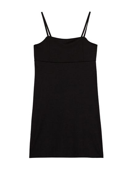 Strappy mini dress