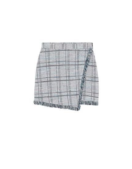Tailoring nederdel med frynser