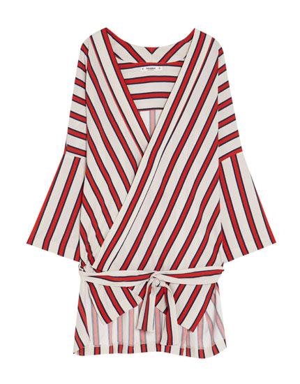 Kimono rayures