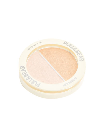 Eye shadow - Off White & Gold