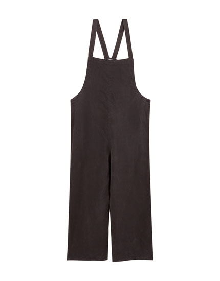 Jumpsuit with criss-cross straps