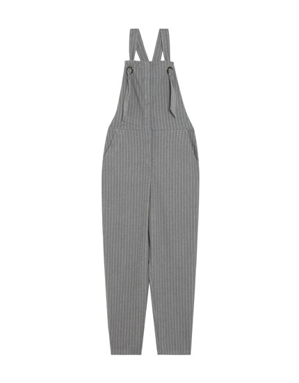 Dungarees with button fastening