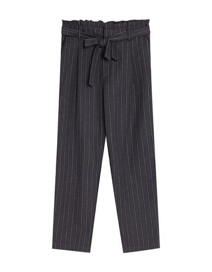 Paperbag-pantalon
