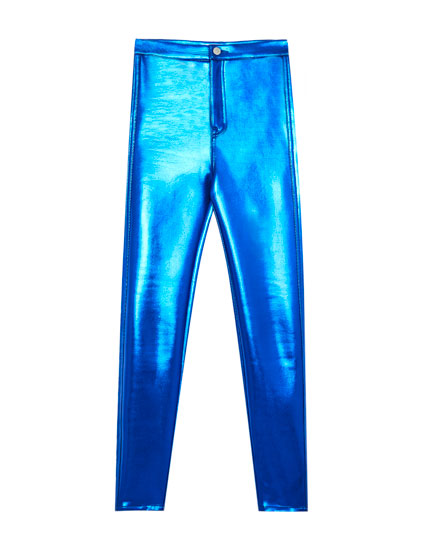 Shiny trousers