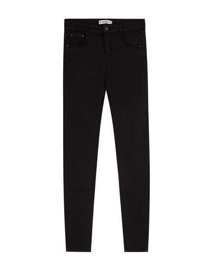 Push-up skinny fit jeans