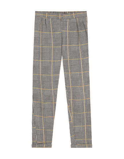 Pantalon tailoring carreaux