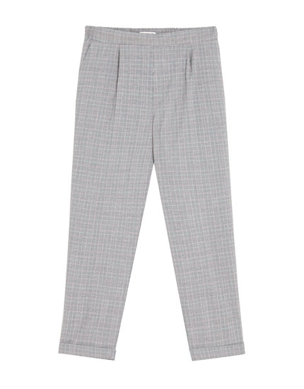 Pantalon jogging à carreaux