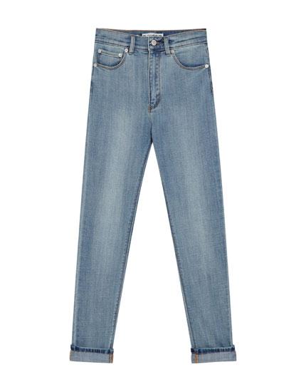 """Skinny-Fit-Jeans """"Premium Quality"""" mit hohem Bund"""
