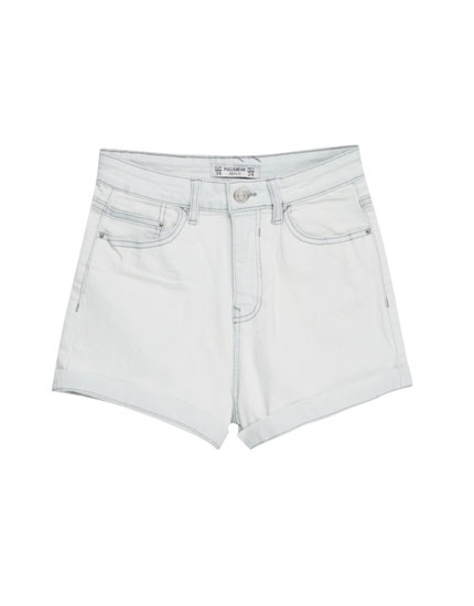 Basic denim short