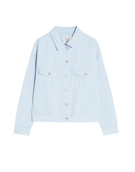 Vienkārša džinsa jaka