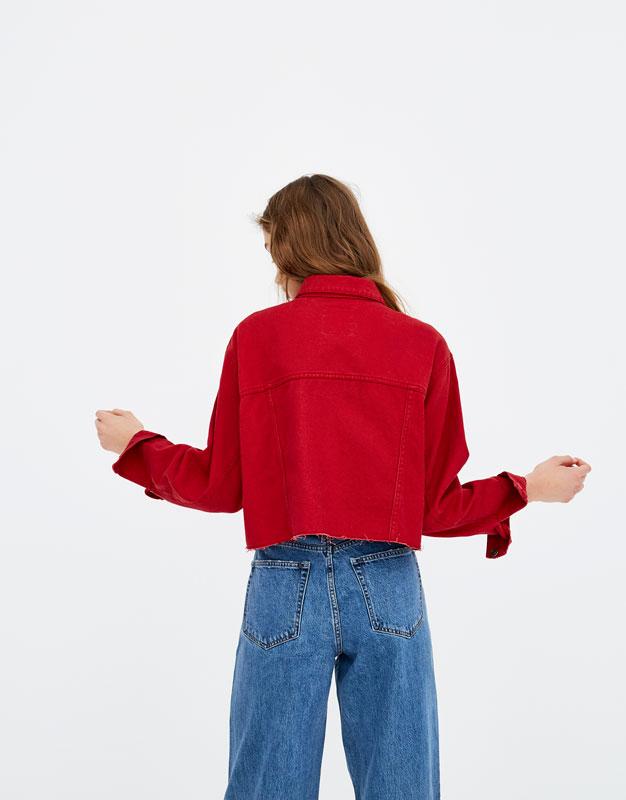 Veste courte couleurs