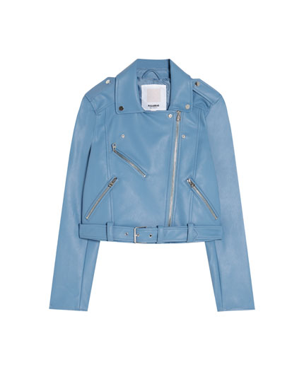 Biker jacket in several colours