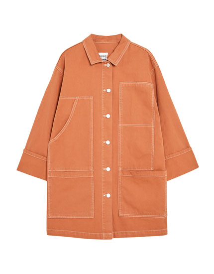 Russet carpenter jacket