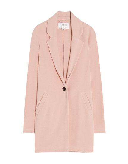 Manteau col à revers