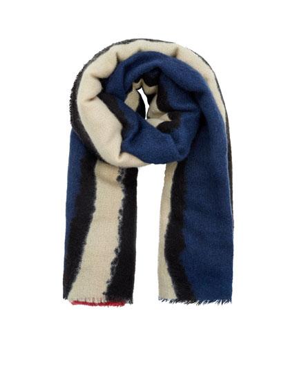Striped foulard