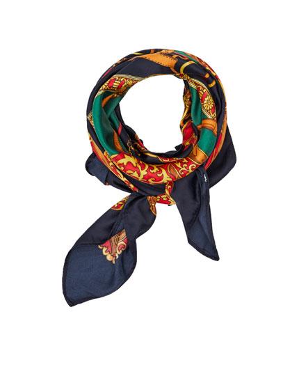 Foulard style vintage