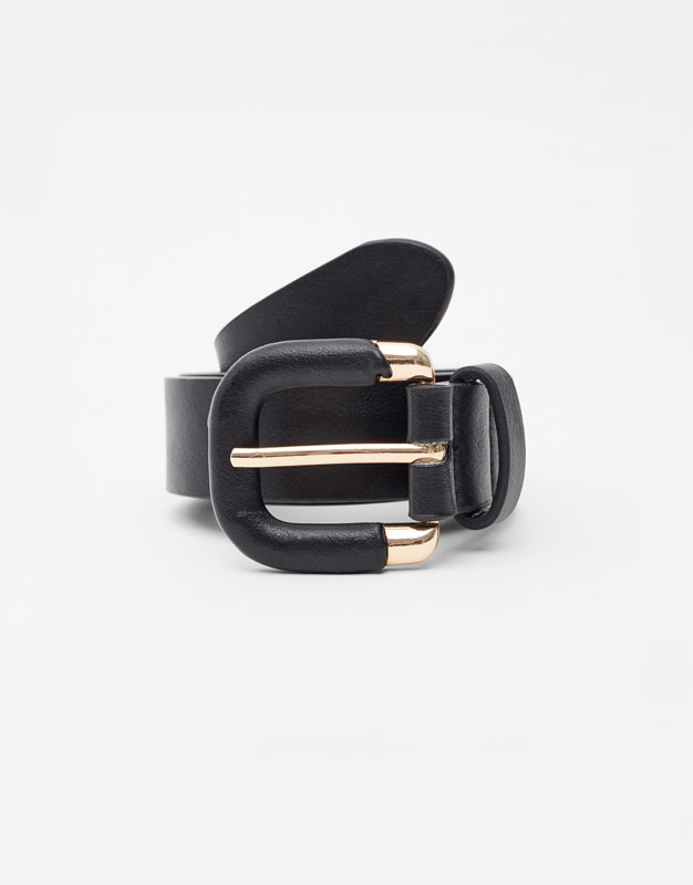 Belt With Semi Lined Buckle by Pull & Bear