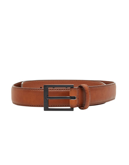 Basic thin belt